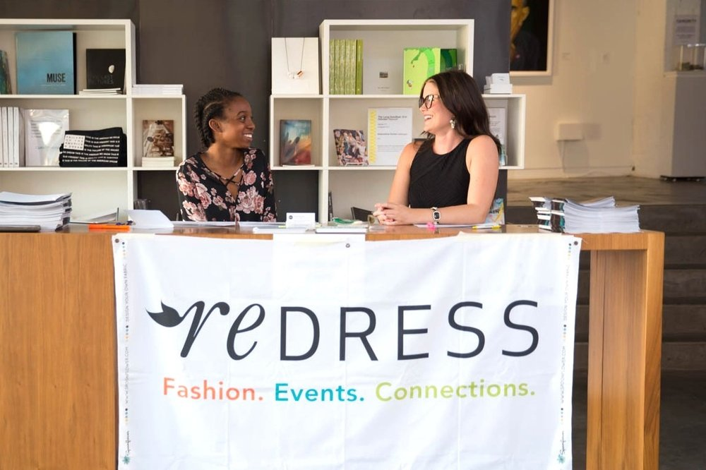 Attend an event - We host events on what's cool in sustainable fashion, educational seminars to increase your knowledge, and socials for the fashion and textiles industry.