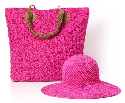 The Sabina Concha from Atelier Avanzar - CHF 295 and Pamela Hat CHF 119 - For Her Relaxing Time At The Beach
