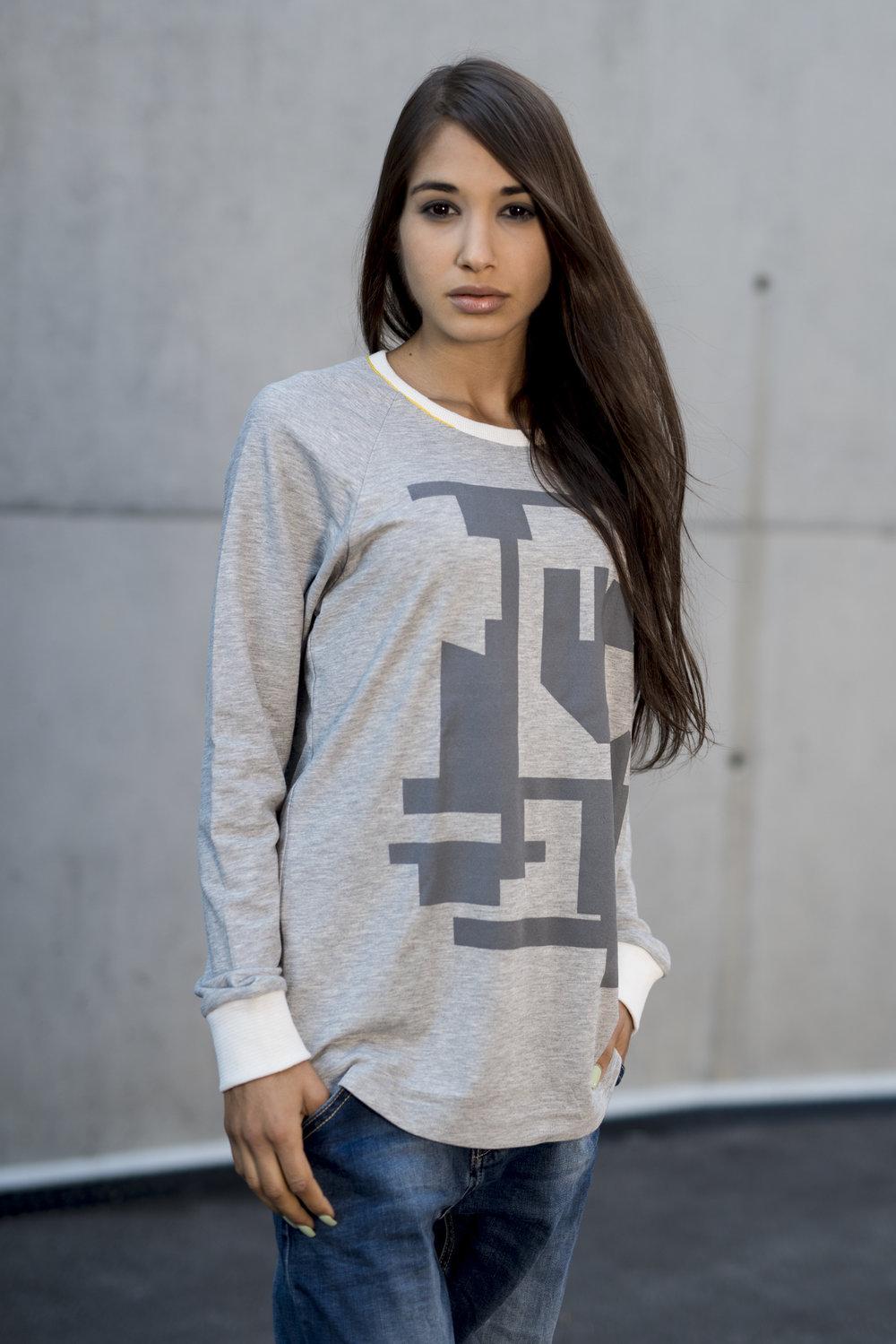 Grey Block Style - 100% Fine Cotton - USD 89