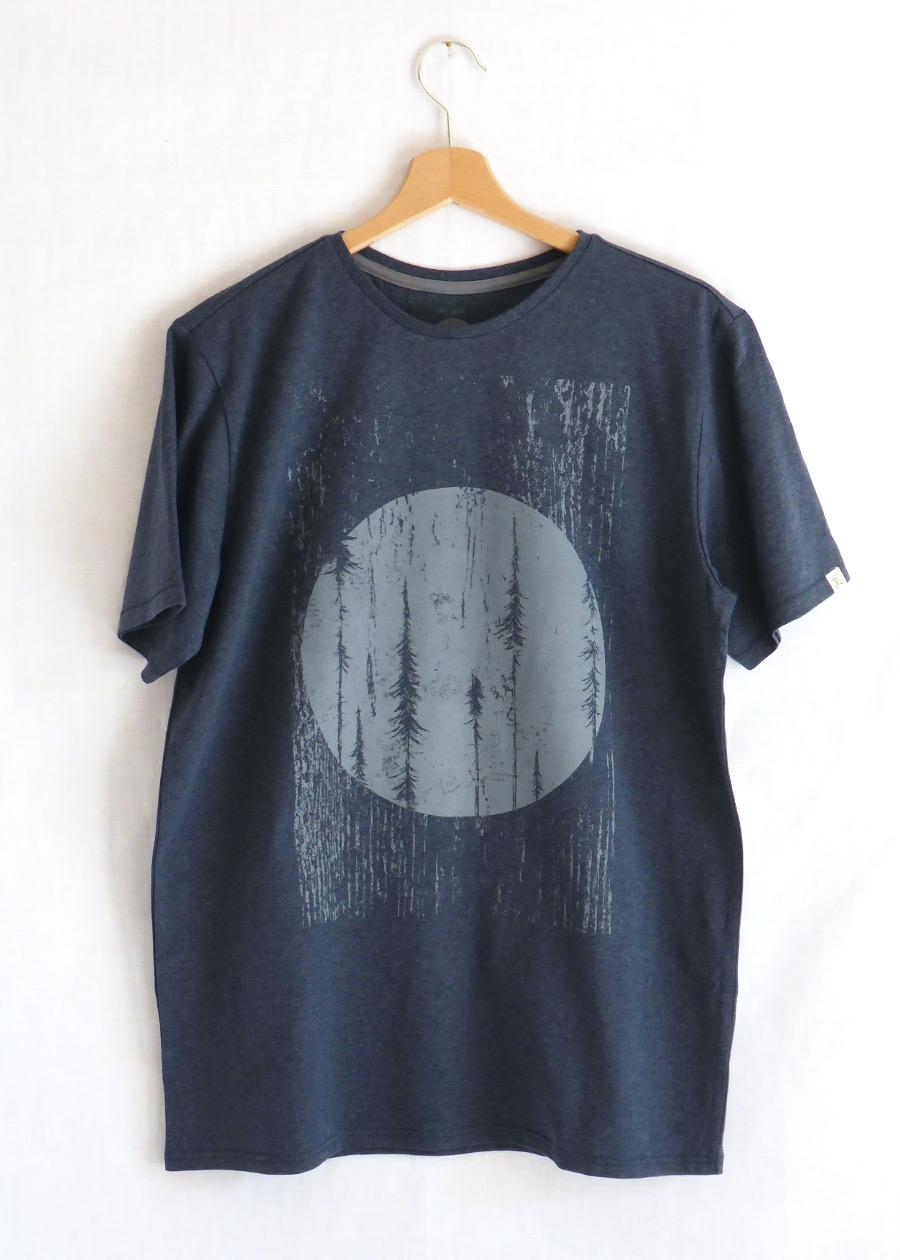 Forest T-Shirt Blue Stone from ZRCL - CHF 49 -