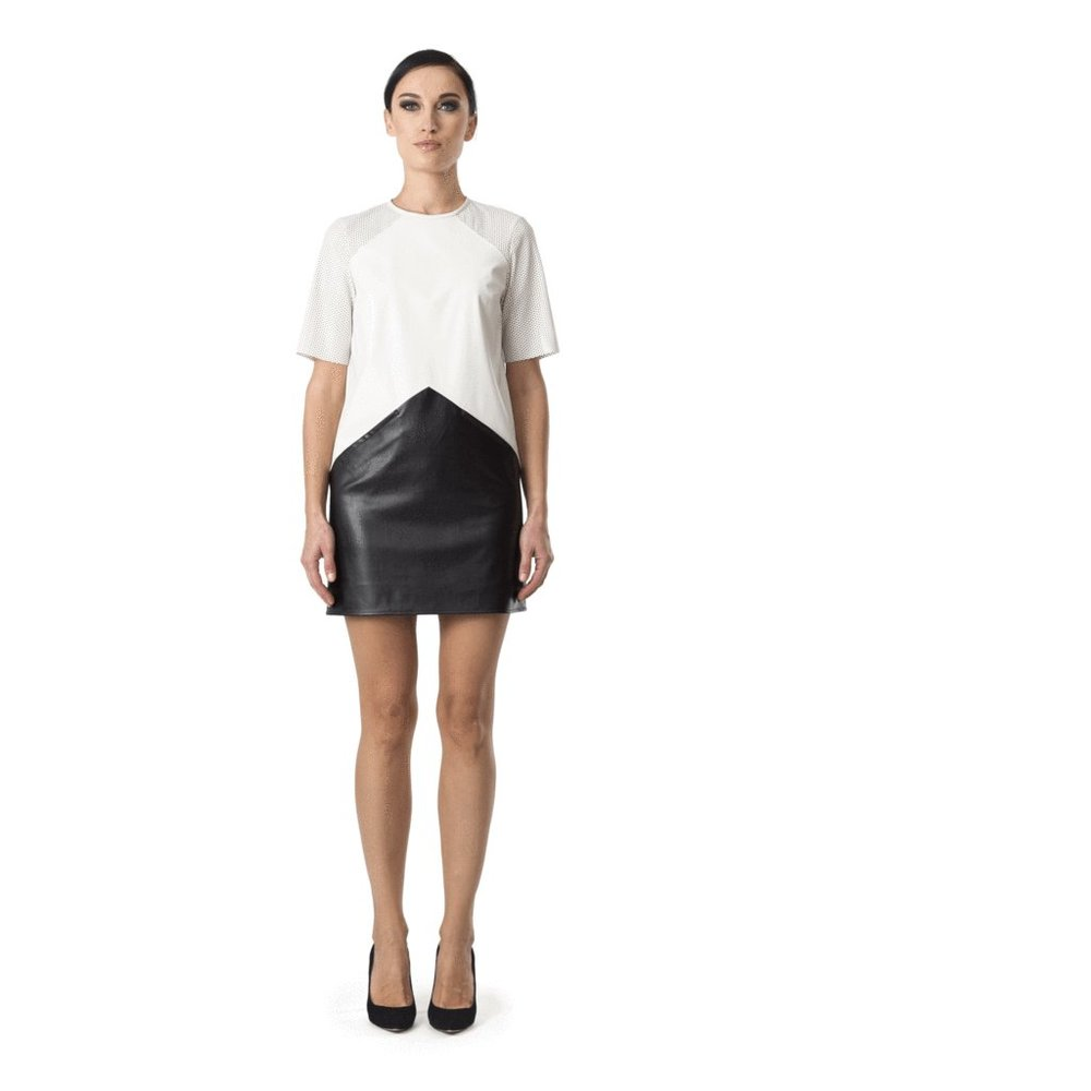 Beth Dress - eco leather: 60%PU 37%PES 3%SPA - CHF 426