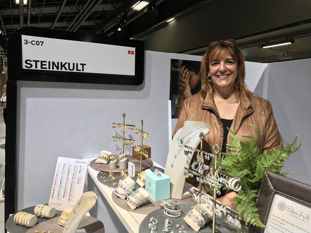 Alexandra Manini, founder and designer of Steinkult