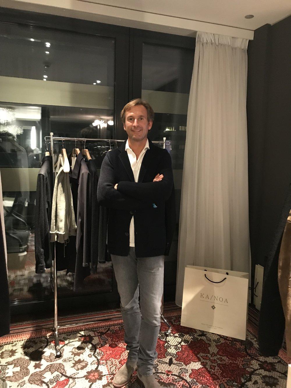 Bruno Grande, founder and wardrobe designer of KA/NOA