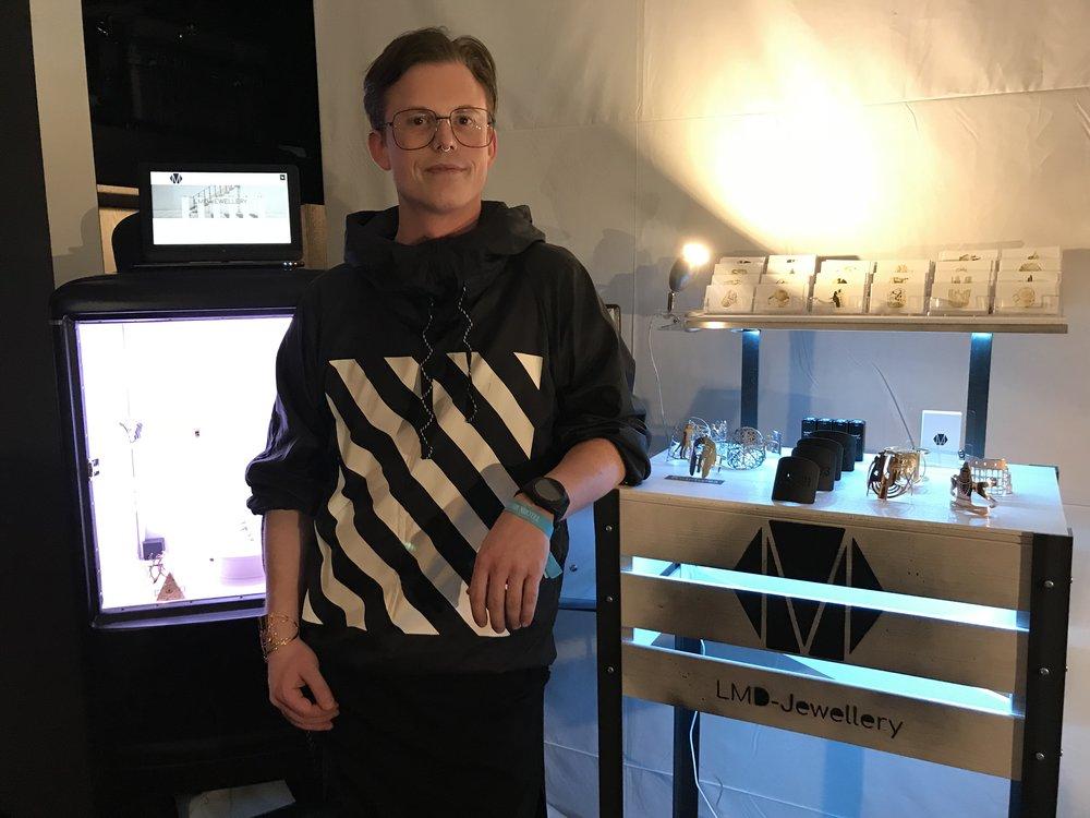 Lukas Müller, founder and designer of LMD