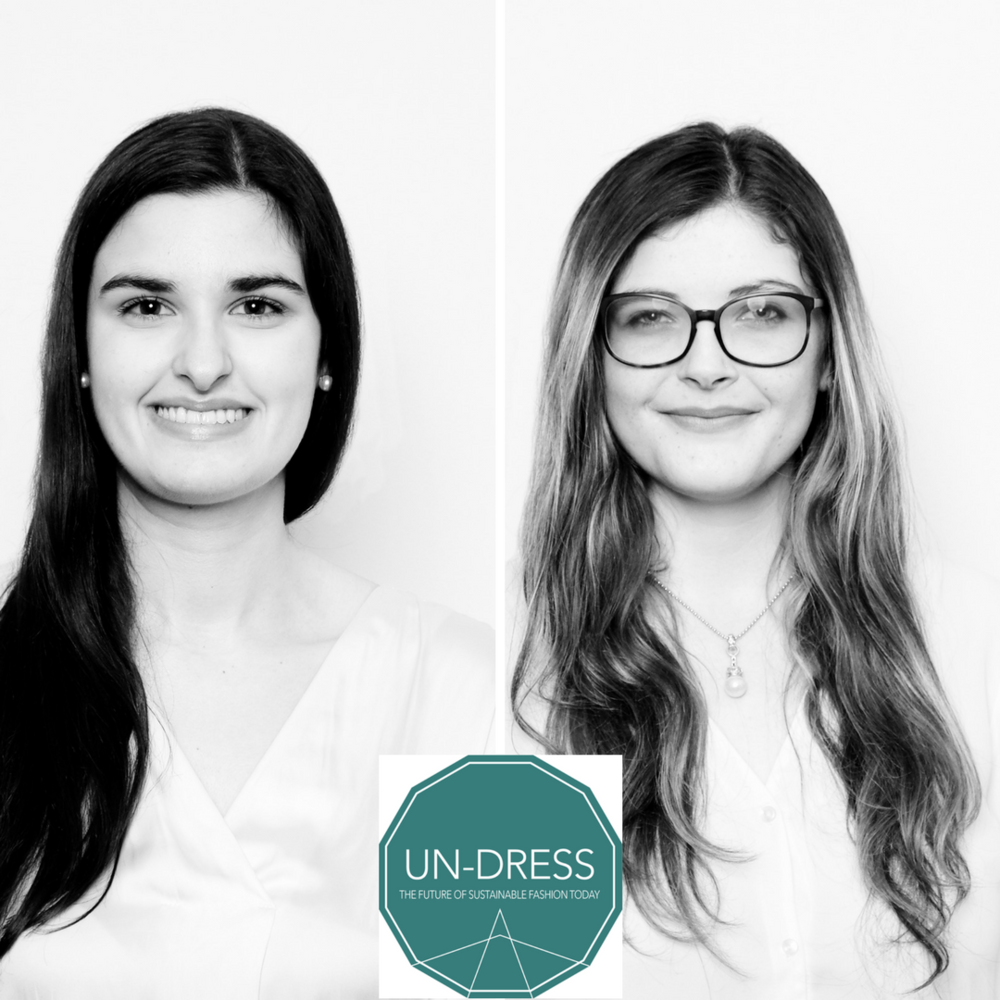 Meet Simona and Tamara, Students from St Gallen University and coordinators of UN-DRESS 2018