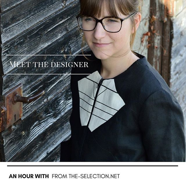 "We spent ""An Hour With"" the designer @pascalecornu Read how as a vegetarian and strong believer of #slowliving she designs her ready-to-wear collections. Read more...link in bio"