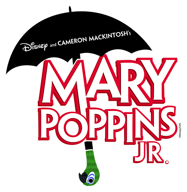 MARY POPPINS JR. - A Musical based on the stories of P.L. Travers and the Walt Disney filmOriginal Music and Lyrics byRichard M. Sherman and Robert B. ShermanBook by Julian FellowesNew Songs and Additional Music and Lyrics byGeorge Stiles and Anthony DreweCo-Created by Cambeorn mackintoshAdapted by iTheatrics under the supervision ofTimothy Allen McDonaldBased on one of the most popular Disney movies of all time and the Broadway musical that played for over 2,500 performances and received multiple Olivier and Tony Awards nominations, Disney and Cameron Mackintosh's Mary Poppins is capturing hearts in a whole new way: as a practically perfect Broadway Junior musical!April 26 - 27