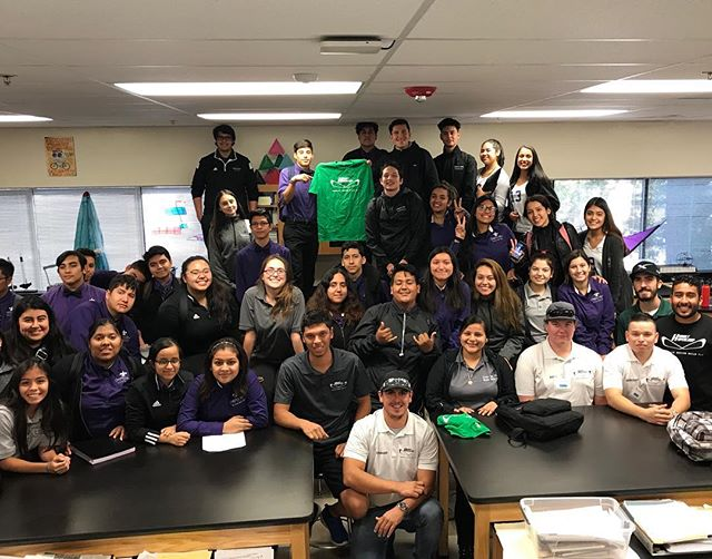 Thank you Cristo Rey for allowing us to give a Hyperloop presentation today. It was an honor to be allowed to speak and hopefully motivate some young minds #hyperloop #sacstate #csus #cristoray