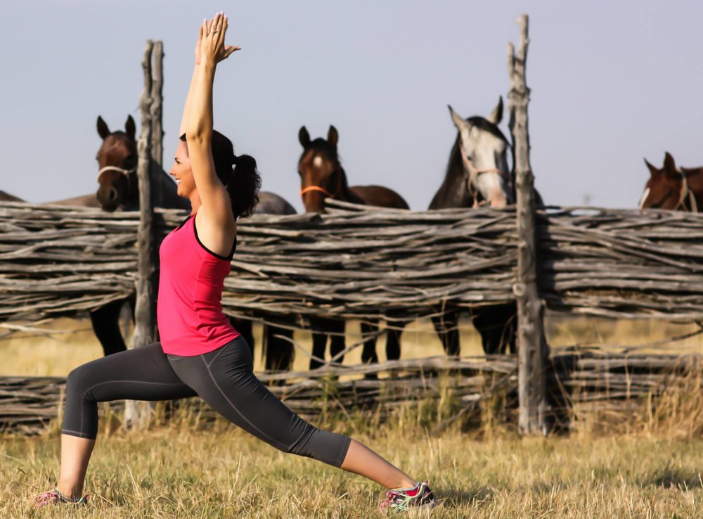 horse rider fitness