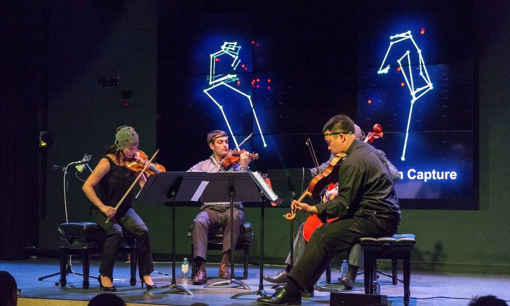 Afiara Quartet, LIVELab, 2015