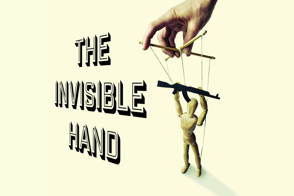 The Invisible Hand, Theatre Aquarius, 2018