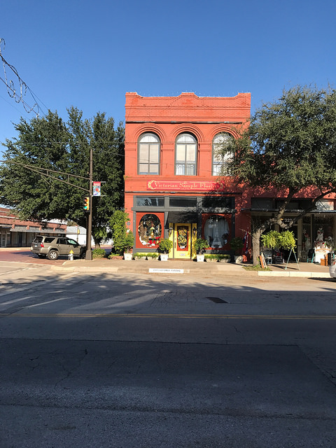 Beaton Street in Downtown Corsicana, TX