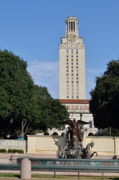 The University of Texas Tower, Austin, TX