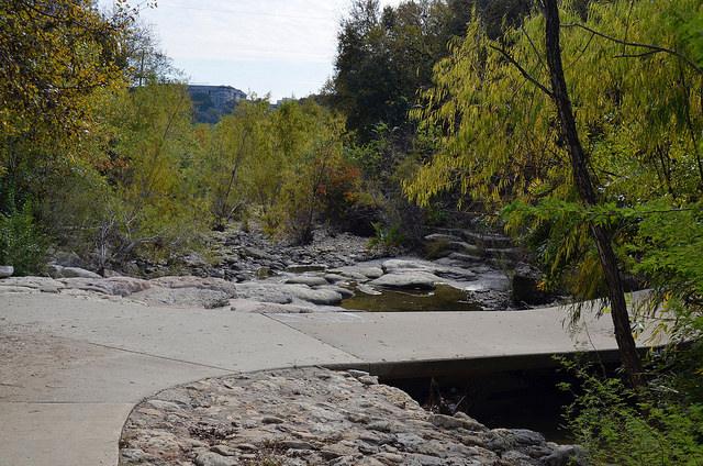 Shoal Creek in Pease District Park. Austin, TX
