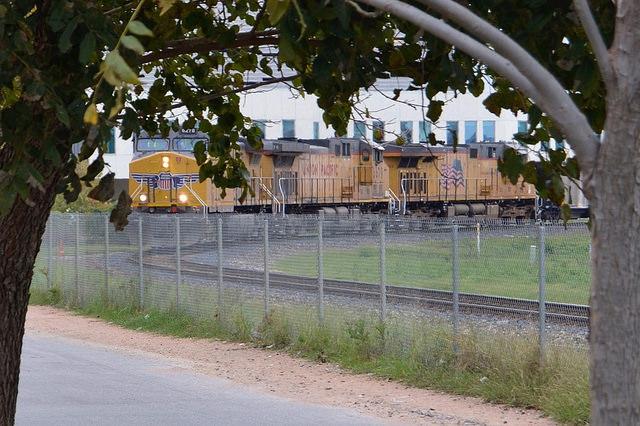 The train still comes through town. Austin, TX