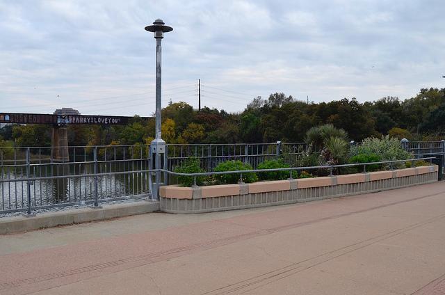 Walking bridge, Austin, TX