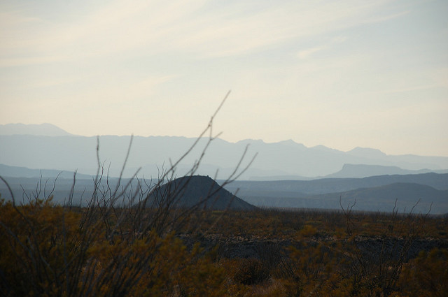 No matter which way you turn in Big Bend, the breathtaking views are everywhere.