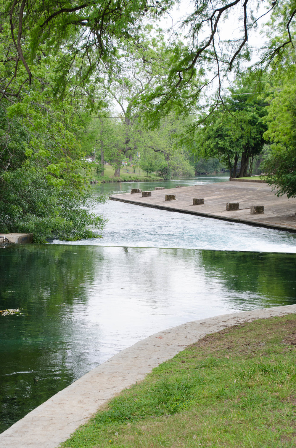 Landa Park and the Comal River