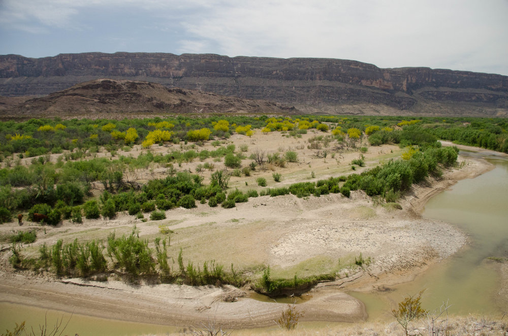 The Rio Grande River and Mexico