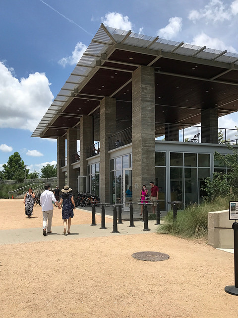 The Visitor Center at The Water Works