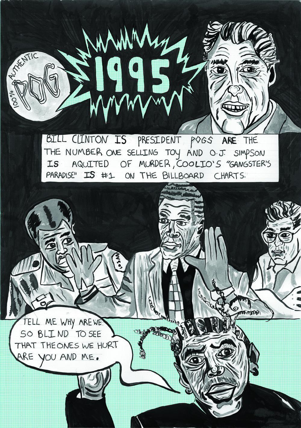 1995 comic page