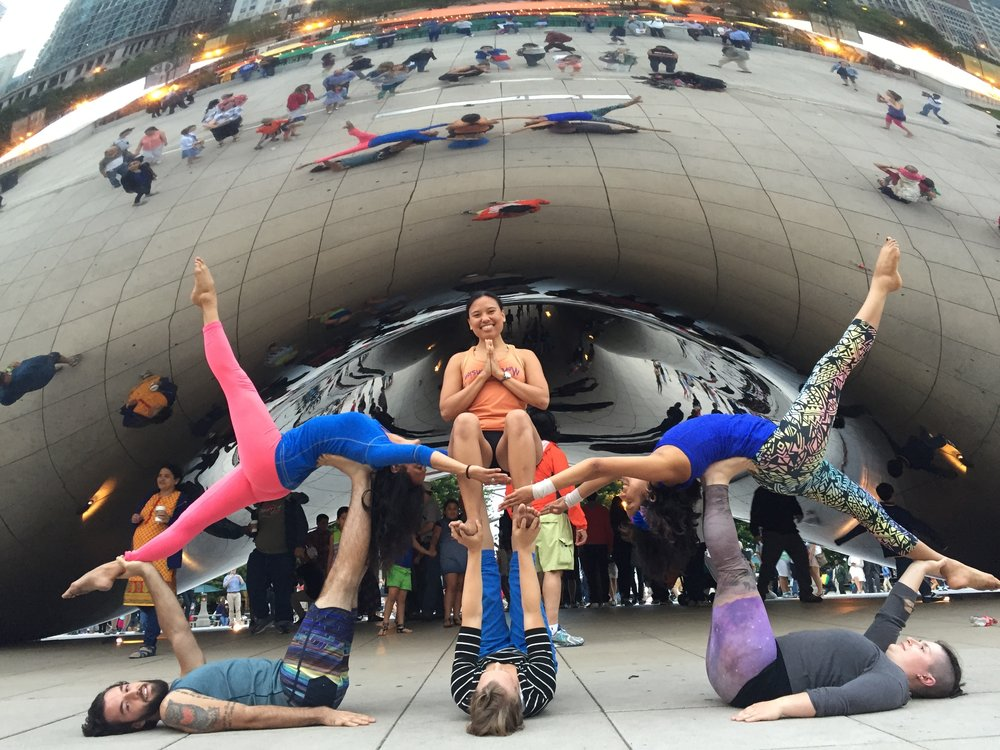 AcroYoga Reflections