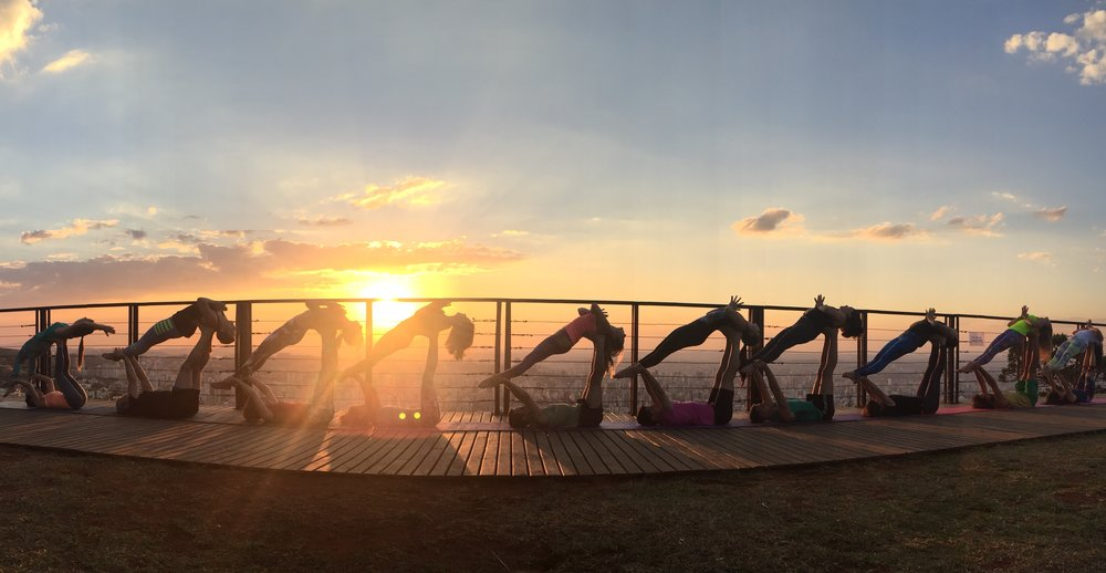 AcroYoga by the Sunset