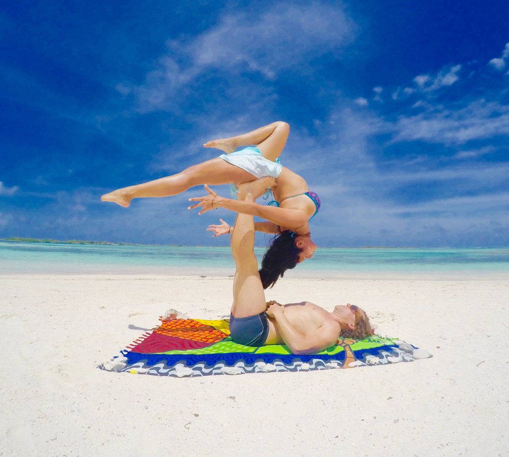 AcroYoga by the Ocean 2