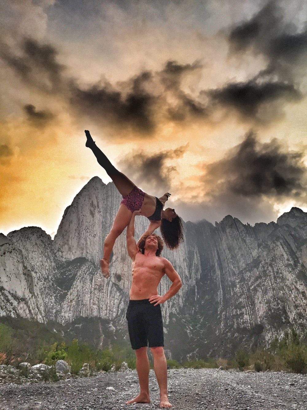 AcroYoga by the Rocky Mountains 3