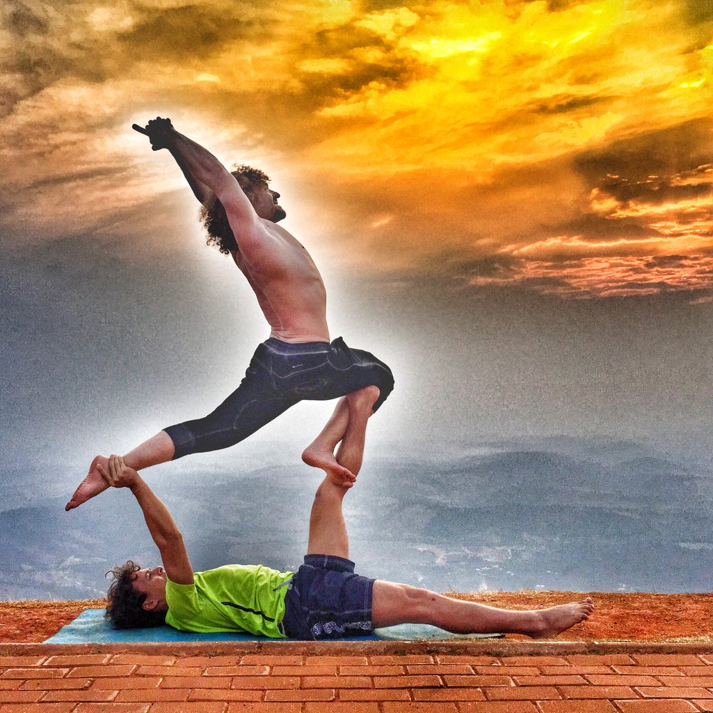 AcroYoga to the Sky 5