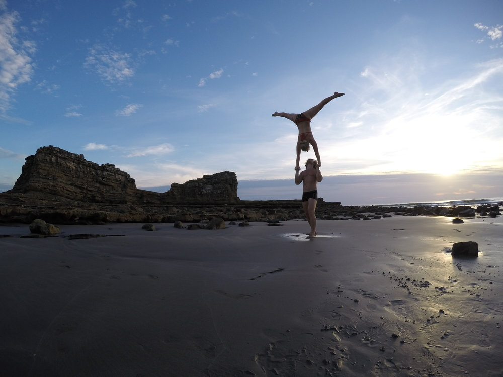 AcroYoga at the Beach 3
