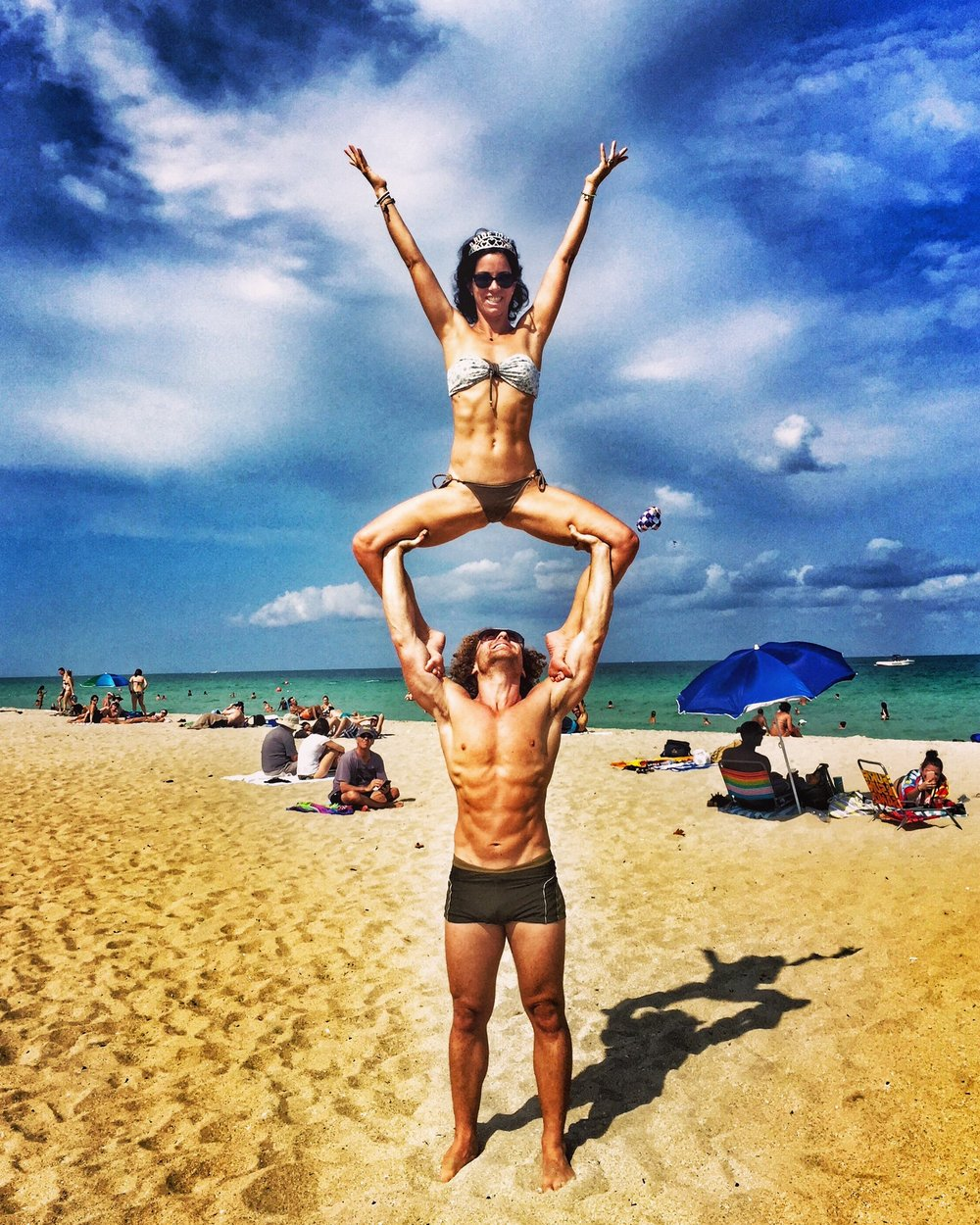 AcroYoga at the Beach 4