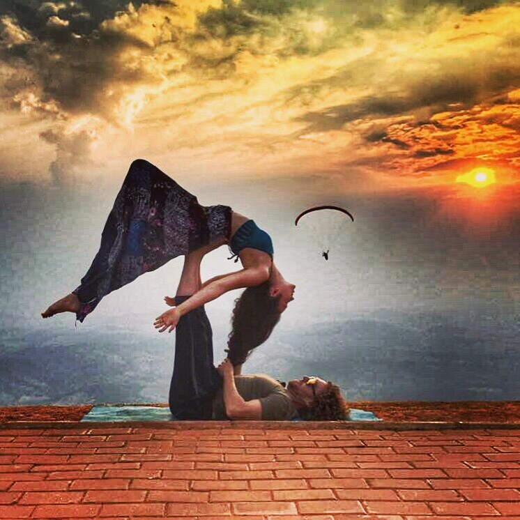 AcroYoga and the Sky 2