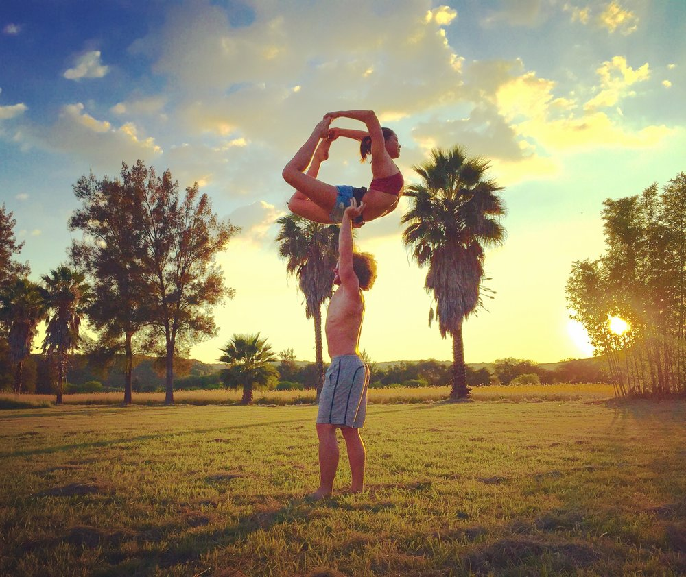 AcroYoga and Nature 2
