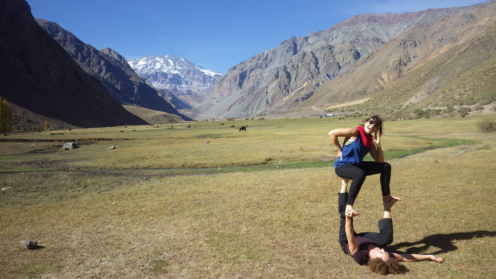 AcroYoga in the Nature