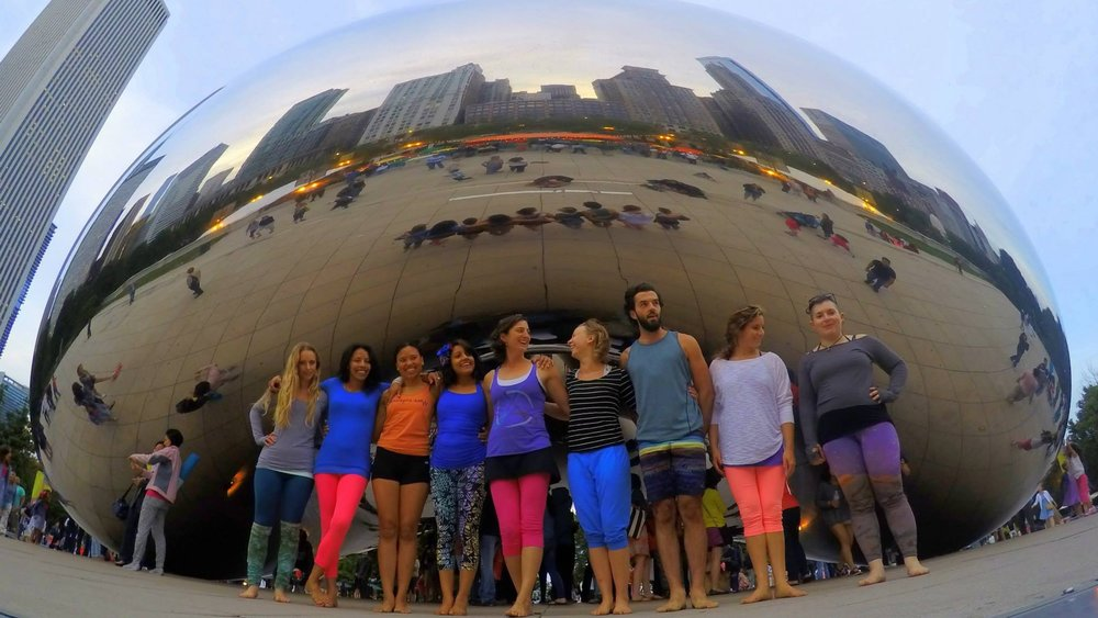 Chicago AcroYoga Elemental Immersion July 11-15 2015