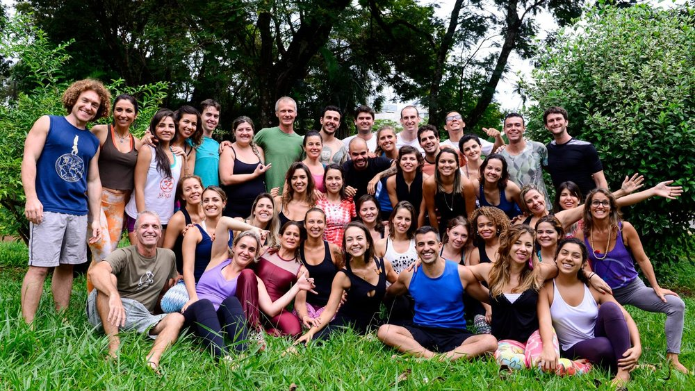 Brasilia AcroYoga Lunar Immersion with Justin Caruso e Thais Joy  abril 3-6 2015