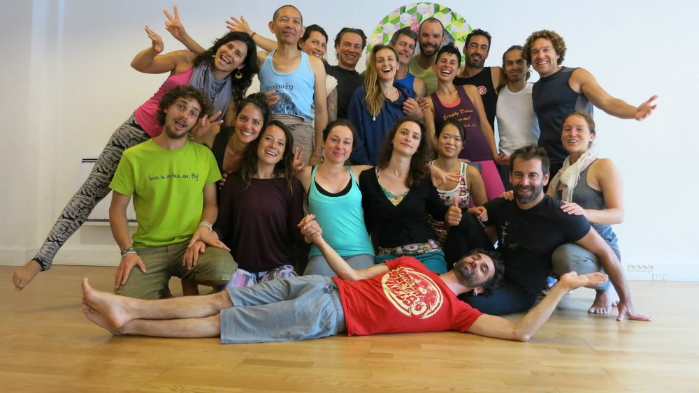 Paris Elemental AcroYoga Immersion Junio 21-25 2014
