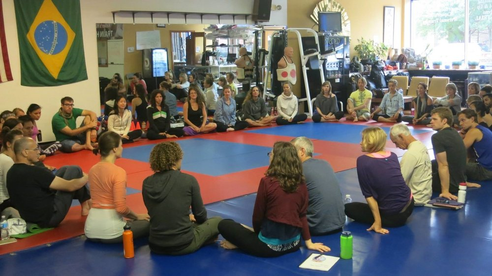 Chicago AcroYoga Elemental Immersion Aug 2013