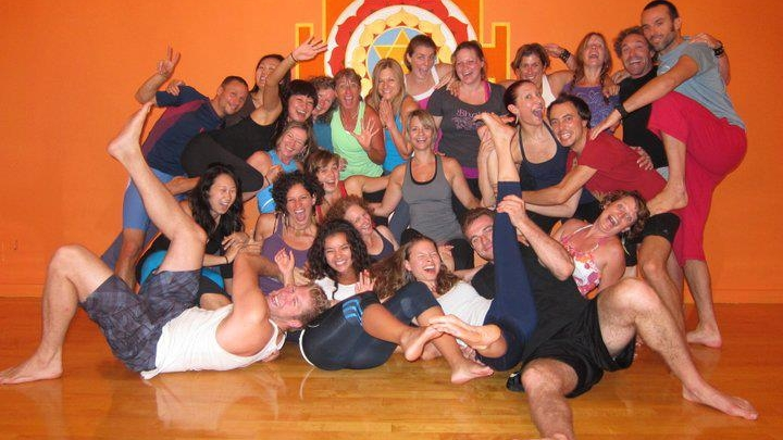 NYC AcroYoga Lunar Immersion Sept 2012