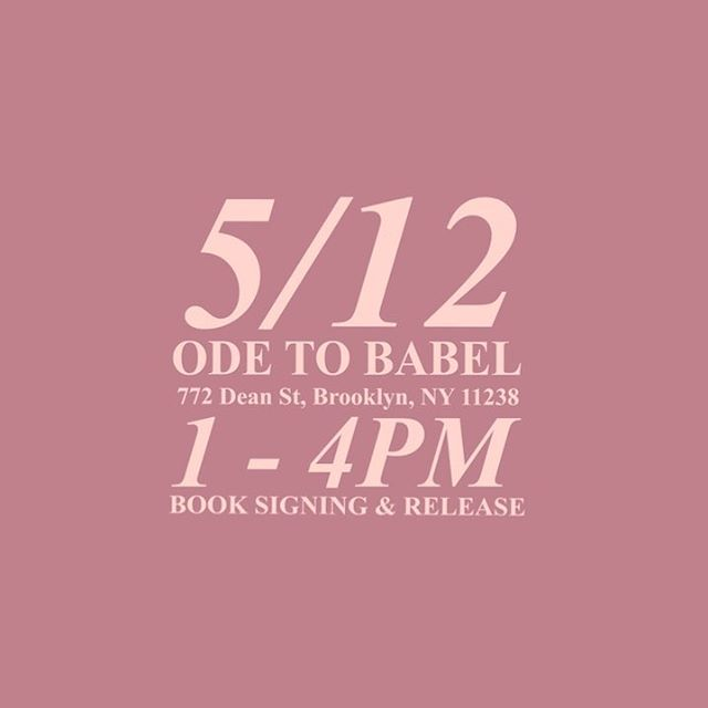 join me for the book signing and release of #studiesofjahyne saturday, may 12th from 1-4pm at @odetobabel! visit the link in the bio to rsvp. 🌸🙏🏾✨ #savethedate
