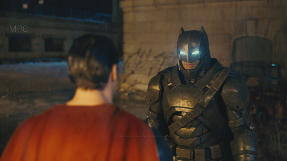 Responsible for Batman Look Dev.  Full CG Batman.  Shot Lighting by Rémy Dalmas