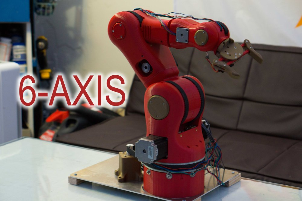6-Axis Robotic Arm