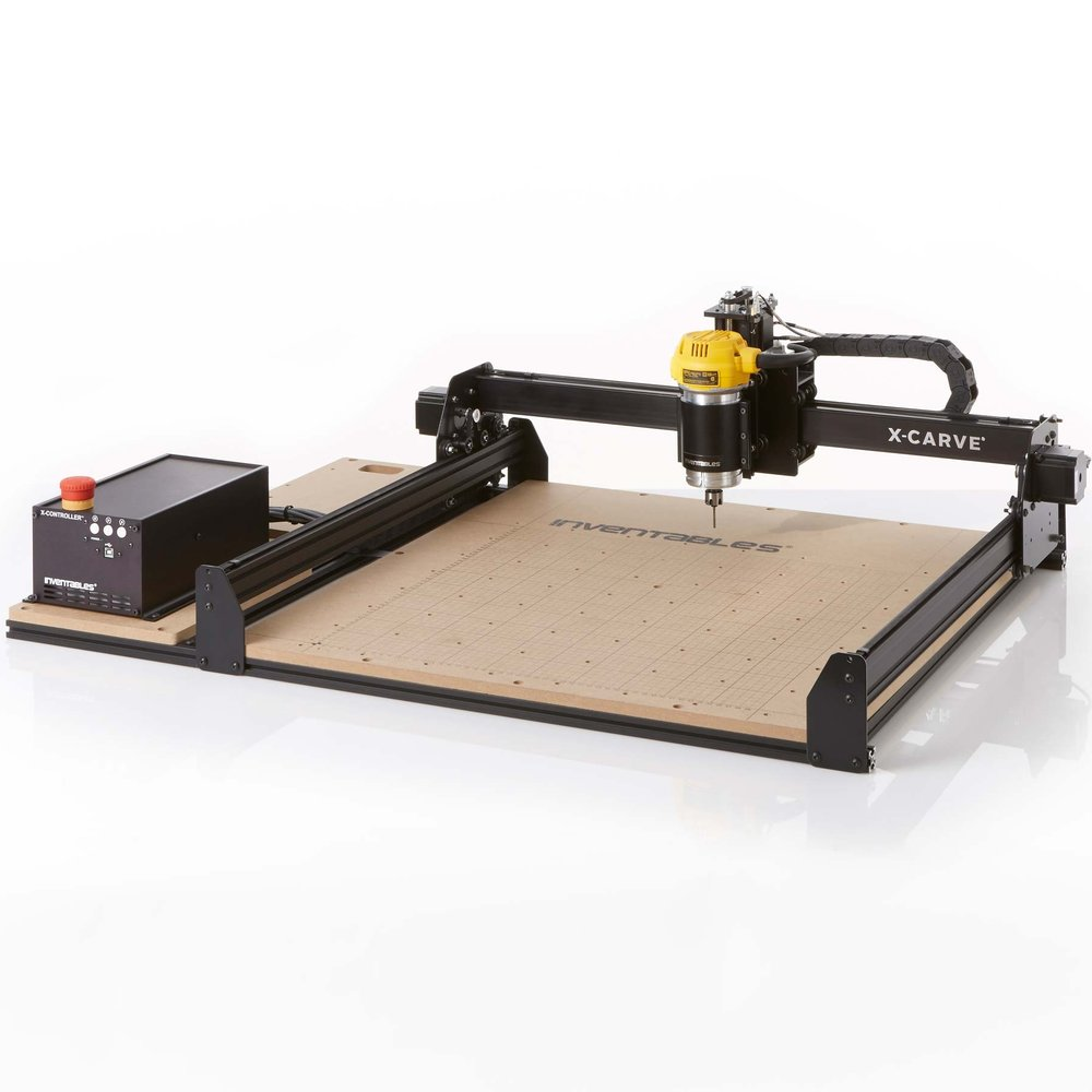 Inventables X-Carve Frame  or any CNC Frame + Stepper Motors