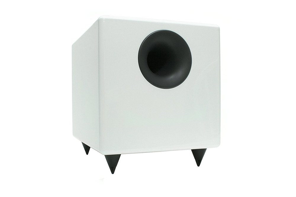Audioengine S8 White 8-inch Powered Subwoofer