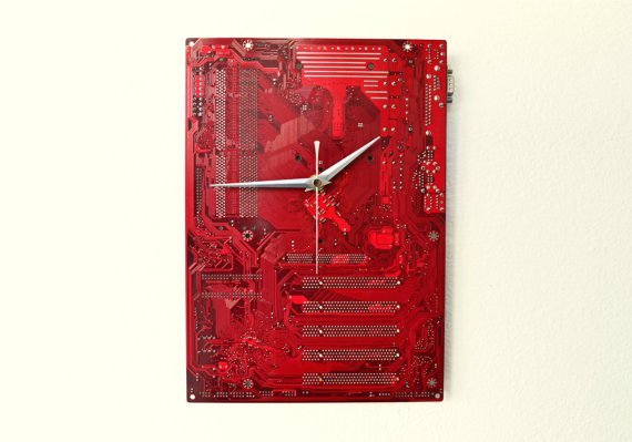 Motherboard Analog Clock