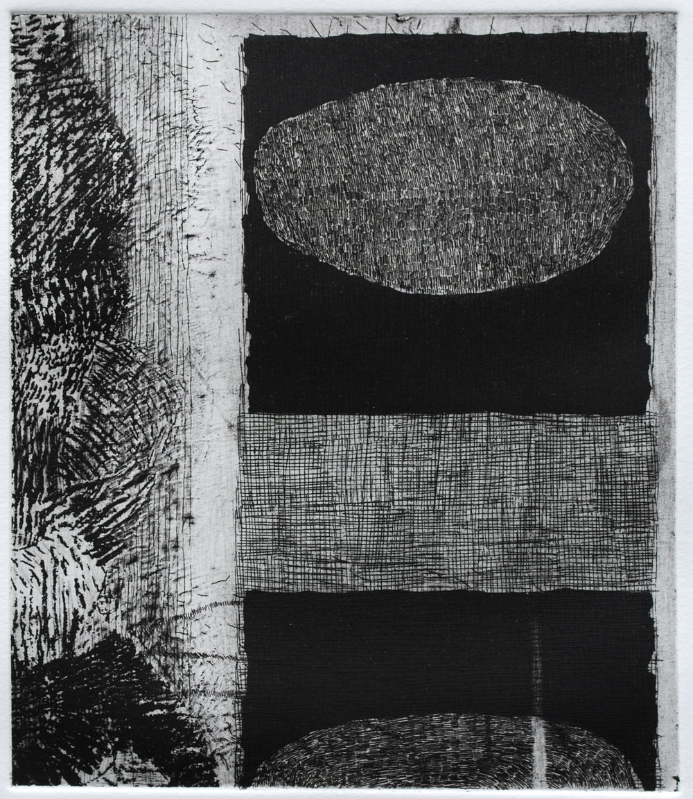 etching, 8 x 7, 2017
