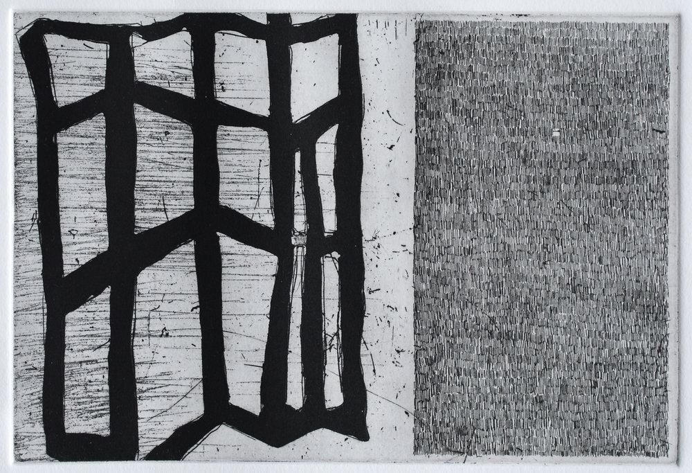 etching, 9 x 6, 2012