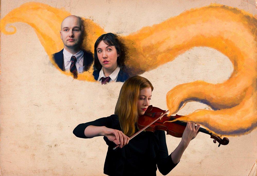 Never The Last Photo of: Anton Lipovetsky, Christine Quintana, and Molly MacKinnon
