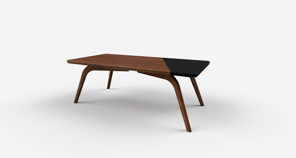 Dipped Walnut™ Coffee Table   Dark Chocolate